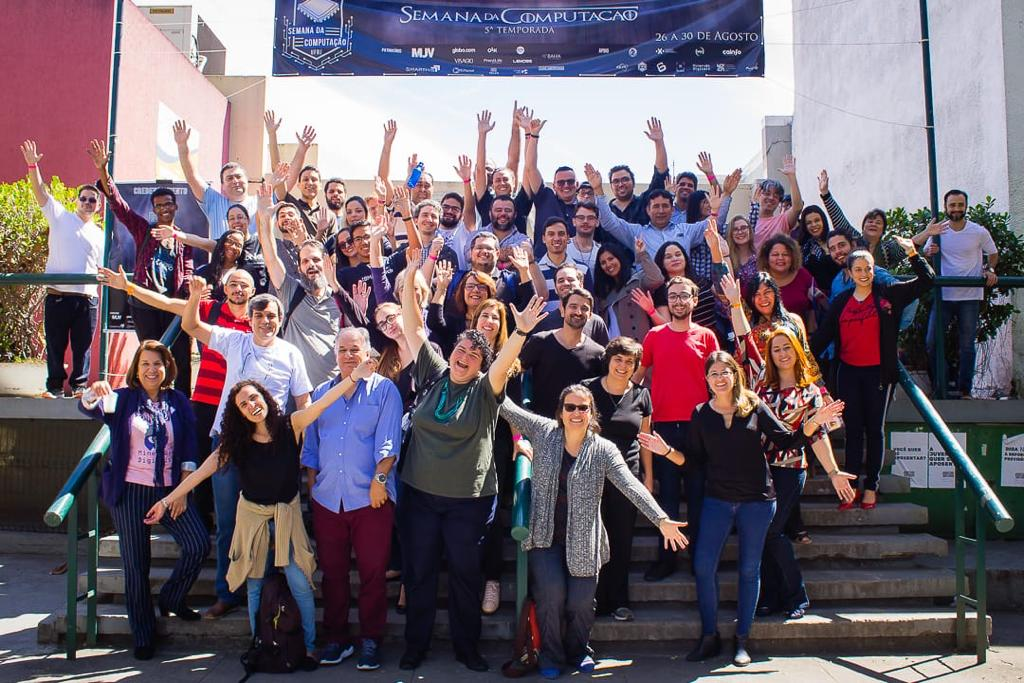 Professores e estudantes do PPGI/UFRJ